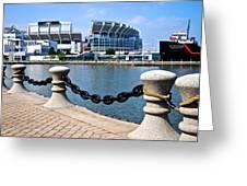 Cleveland Glory Greeting Card