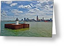 Cleveland Harbor  Greeting Card