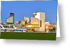 Cleveland Icons Greeting Card