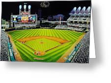 Cleveland Jackobs Nocturn Fireworks Greeting Card