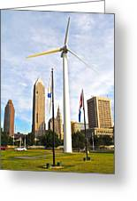 Cleveland Ohio Science Center Greeting Card