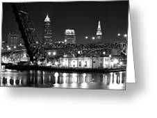 Cleveland Shining Bright Greeting Card