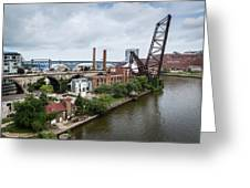 Cleveland West Bank Greeting Card