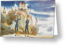 Cliff Castles Greeting Card