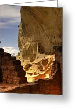 Cliff Dwelling Greeting Card