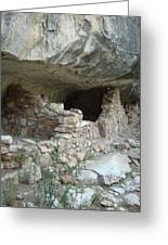 Cliff Dwelling Greeting Card