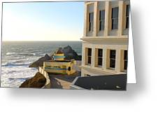 Cliff House Giant Camera Greeting Card
