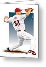 Cliff Lee Greeting Card