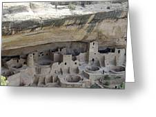 Cliff Palace Overview Greeting Card