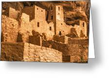 Cliff Palace Townhomes Greeting Card