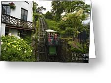 Cliff Railway  Greeting Card