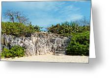 Cliff Stairs 2 Greeting Card