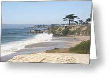 Santa Cruz Cliffline  Greeting Card