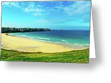 Cliffs In The Sea, Pointe De Pen-hir Greeting Card