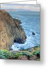 Cliffs Greeting Card by JC Findley