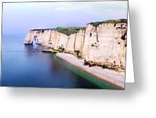 Cliffs Of Etretat 3 Greeting Card