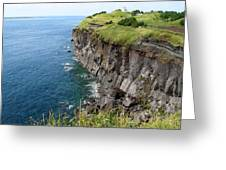 Cliffs Of Korea Greeting Card