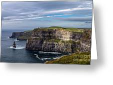 Cliffs Of Moher I Greeting Card