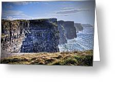 Cliffs Of Moher - Late Afternoon Greeting Card
