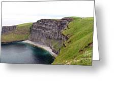 Cliffs Of Moher Panorama 1 Greeting Card