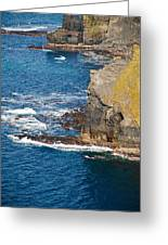 Cliffs Of Time Greeting Card