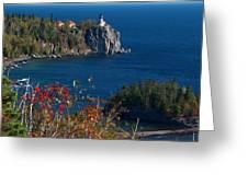 Cliffside Scenic Vista Greeting Card