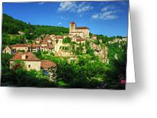 Cliffside Village Greeting Card