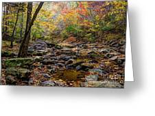 Clifty Creek In Hdr Greeting Card by Paul Mashburn