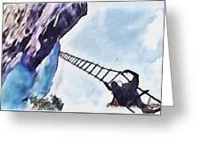 Climb Greeting Card
