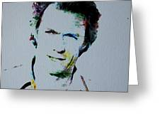 Clint Eastwood 2 Greeting Card