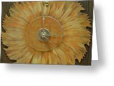 Clock Greeting Card