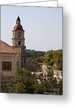 Clock Tower - Rhodos City - Roloi Greeting Card