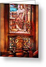 Clockmaker - An Ornate Clock Greeting Card
