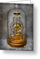 Clocksmith - The Time Capsule Greeting Card by Mike Savad