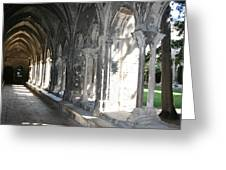 Cloister Arches  Arles Greeting Card