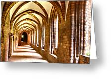 Cloister Arches Greeting Card