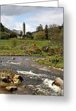 Cloister Glendalough Greeting Card
