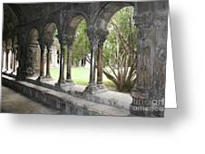 Cloister Saint Trophimus Greeting Card