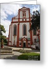 Cloister - St. Marienstern Greeting Card