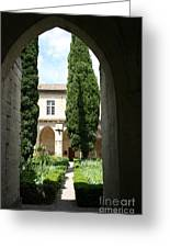 Cloistergarden Chartreuse Greeting Card