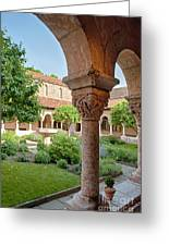 Cloisters Courtyard Greeting Card