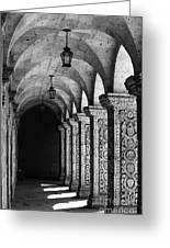 Cloisters In Arequipa Peru Greeting Card