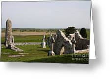 Clonmacnoise - Ireland Greeting Card