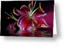 Clorella Greeting Card