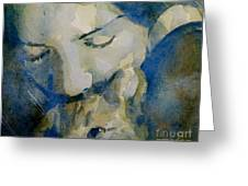 Close My Eyes Lullaby Me To Sleep Greeting Card by Paul Lovering