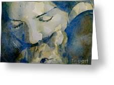 Close My Eyes Lullaby Me To Sleep Greeting Card