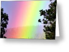Close To The Pot Of Gold Greeting Card