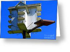 Closer Look At The Birdhouse Greeting Card