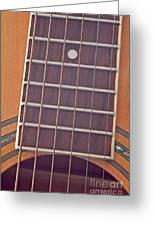 Closeup Of Guitar Art Prints Greeting Card
