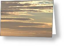 Cloud Abstract II Greeting Card